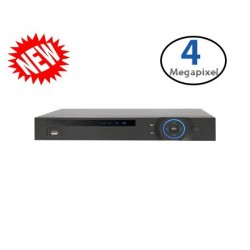 8 Channel XVR Penta-brid 1080P Mini 1U Digital Video Recorder - 5 In 1