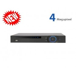16 Channel XVR Penta-brid 1080P 1U Digital Video Recorder - 5 In 1