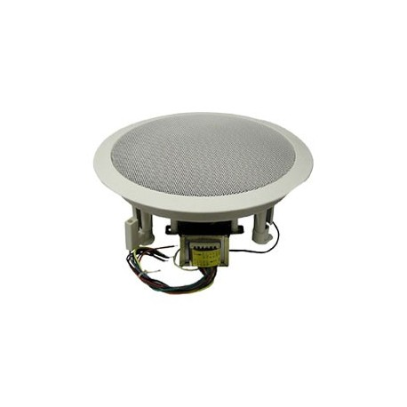 6.5″ Coaxial Speaker, 70/25 Volt Transformer, Attractive Grille
