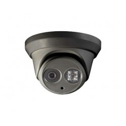 4 MP IR Turret Network Camera - BLACK -