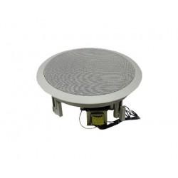 8″ Coaxial Speaker, 70/25 Volt Transformer (WHITE)