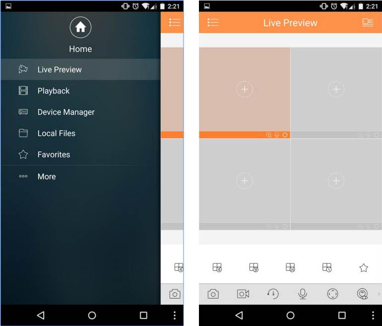 Phone App for Dahua